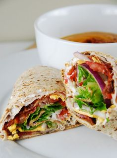 Bacon Ranch Turkey Wrap Recipe – Weight Watchers Recipes
