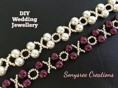 XOXO Beaded Bracelet Wedding Jewelry in 10 Minutes - YouTube