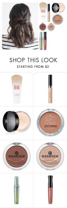"""""""Back To School - make up for high school"""" by azra-99 on Polyvore featuring beauty, Maybelline, Avon, Essence and Rimmel"""