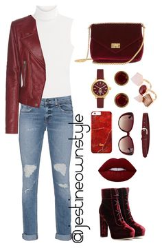 """""""Fall Colors """" by jestineownstyle on Polyvore featuring Diane Von Furstenberg, rag & bone, Balenciaga, Jimmy Choo, Tory Burch, Eddie Borgo, Étoile Isabel Marant and Lime Crime"""