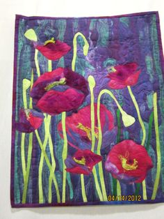 Art Quilt Challenge Influenced by Master Painters