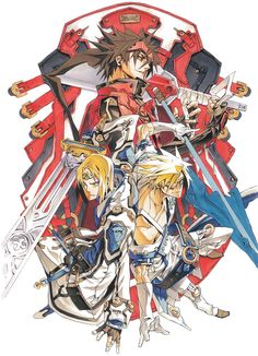 View an image titled 'Characters Illustration' in our Guilty Gear Overture art gallery featuring official character designs, concept art, and promo pictures. Comics Illustration, Illustrations, Character Illustration, Game Character Design, Character Design References, Character Art, Game Design, Guilty Gear Xrd, Gear Art
