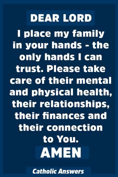 Powerful Prayer for the Protection of Your Family. Prayer Scriptures, Bible Prayers, Faith Prayer, God Prayer, Power Of Prayer, Catholic Prayers Daily, Prayer For Guidance, Bible Verses, Prayers For Family Protection