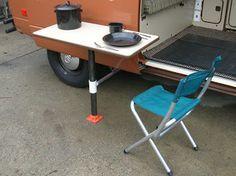 Blue Highway Vanagon: Westfalia Improvements - Part III - outside table mount