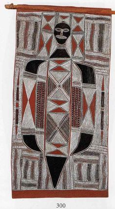 The aim of this article is to assist readers in identifying if their bark painting is by Naritjun Maymuru. Aboriginal Painting, Illustration Art, Illustrations, Australian Art, Indigenous Art, Sacred Art, Land Art, Religious Art, Primitive