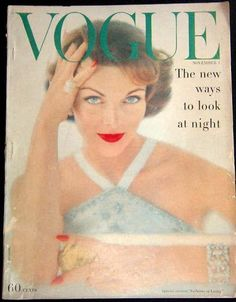 Evelyn Tripp, cover of Vogue