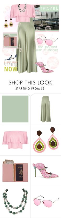 """""""Travel the world"""" by lubinesse ❤ liked on Polyvore featuring Givenchy, Boohoo, Toolally, Royce Leather, Malone Souliers and Tiffany & Co."""