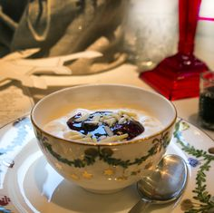 Ris a la mande / Rice pudding - Christmas menu 2015