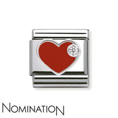 First one I bought for myself . Nomination Red Heart Charm - Click to view larger image