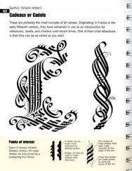 Afbeeldingsresultaat voor calligraphy cadel letters