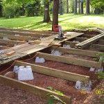 Sleek Floating Deck Plans