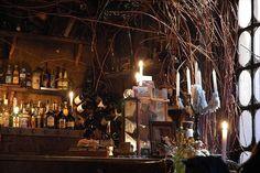 Alchemia, in Kazimez, Krakow. My favorite bar in the world.