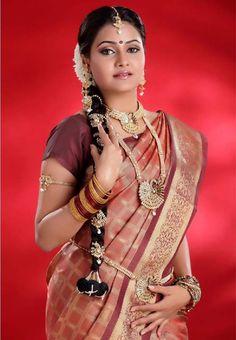Indian Bridal Hairstyles Look