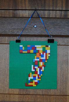 Oscar's Lego Party! - Oscar's Lego Party! Door plaque - The Creative Mummy - Lego Themed Party, Lego Birthday Party, Star Wars Birthday, Star Wars Party, 6th Birthday Parties, Boy Birthday, Lego Parties, Lego Birthday Banner, 5th Birthday Ideas For Boys