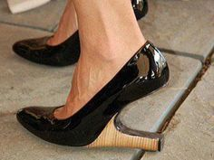 Upside down shoe???