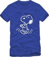 2014 Summer New Men's Logo SNOOPY T-shirts Short Sleeve Hiphop CUTE SNOOPY T shirts