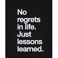 live... learn!