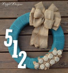 Hey, I found this really awesome Etsy listing at https://www.etsy.com/listing/191729228/vintage-burlap-wreath-with-initial-or