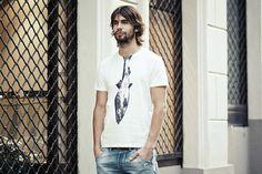 Herring T-shirt SELVA - Unique mens clothing - Trendy T-shirt