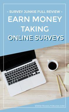 Survey Junkie   Frugal Living   Make Money   Make Money From Home   Make Money Online   Money Making Apps   Surveys That Pay   Online Survey Sites   Side Hustle.