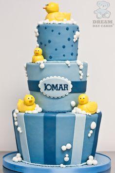 Baby Shower Blue  | Blue Baby Shower Cake