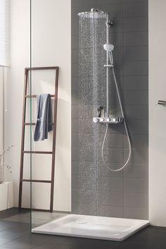 Intuitiv, sicher und komfortabel. Rüste jetzt deine Dusche auf!  Grohe Kitchen Taps, Kitchen Mixer Taps, Bathroom Taps, Bathrooms, New Bathroom Designs, Interior Styling, Interior Design, Flat Ideas, Stylish Bedroom