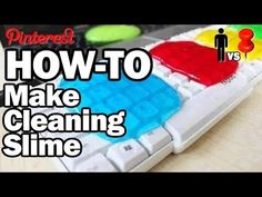 ▶ How to make Cleaning Slime - Man Vs. Pin #16 - YouTube