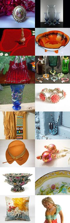 COLORS OF THE RAINBOW - Gift Ideas by Christine Behrens on Etsy--Pinned with TreasuryPin.com