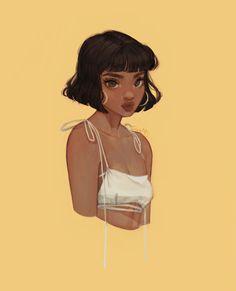 """alex from totally spies"" Cute Art Styles, Cartoon Art Styles, Arte Dope, Arte Indie, Arte Fashion, Gothic Fashion, Cartoon Kunst, Black Girl Art, Digital Art Girl"