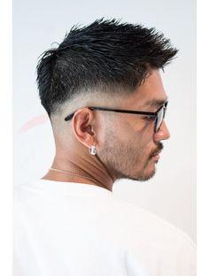 メリケンバーバーショップ(MERICAN BARBERSHOP)ワイルドツーブロックビジカジウェットアシメショート Shot Hair Styles, Hair And Beard Styles, Asian Man Haircut, Mens Pomade, Fade Haircut, New Hair, Men's Hair, Haircuts For Men, Fashion Pictures