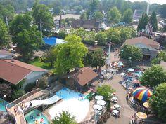 View of Waldameer from Ferris Wheel