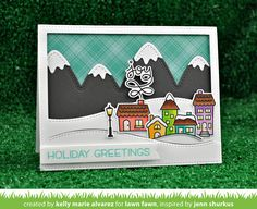 the Lawn Fawn blog: Lawn Fawn Intro: Winter Village