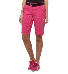Puma Women's Golf Tech Shorts in Cabaret Pink | #golf4her