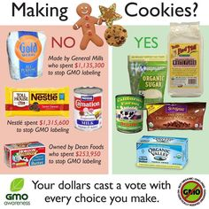 GMO free cookie ingredients