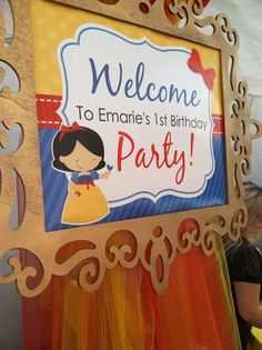 Snow White Birthday Party Ideas | Photo 18 of 30 | Catch My Party