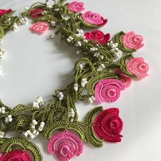 This beaded necklace is hand crocheted and ready to wear. Countless pieces of seed beads have been used in this vintage style crochet hair piece. You can use this beaded boho necklace also as a bracelet, lariat bangle, belt and in many other forms. This handmade crochet necklace fits