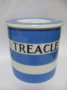 T.G.Green Cornish Ware 'Treacle' lidded pot