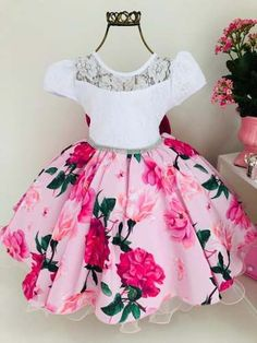 Baby Girl Party Dresses, Little Girl Outfits, Little Girl Dresses, Little Girls, Kids Outfits, Girls Dresses, Summer Dresses, Lion Face Drawing, Frocks