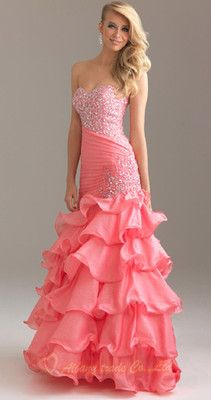 fabulous mermaid gown beading prom dress evening party ball