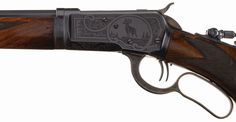 Exceptional and Documented Factory Engraved Special Order Winchester Deluxe Model 1892 Fancy Sporting Takedown Lever Action Rifle