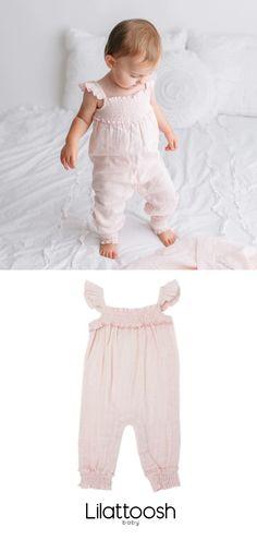 6-9 Months Gray Organic Muslin Cotton Pants