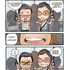 Maap komik terbarunya masi in-progress.. Jadi upload koleksi lama dulu, ya..  . Ini based on true story, lho. Hehee.. Please enjoy and share, bcos sharing is caring  . . #komik #komikinajah #Komiks #komikindonesia #komikkonmalaysia #komikstrip #komikinaja #memekomik #memekomikindonesia #Komika #komikvine #komikcaps #memekomikindo #komikbekas #komikstripburhan