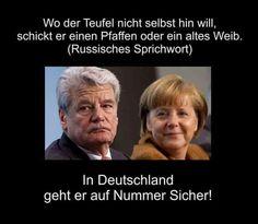 Merkel und Gauck!