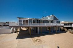 Lots of Coverage under deck. 6 BR / 4 Baths / 22 Occupancy. $1110 for 3 nights after 9/28/13