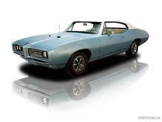 1968 Pontiac GTO 400V8 Nordic Blue