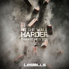 """Les Mills """"Hit the wall harder than it hits you"""" promo"""