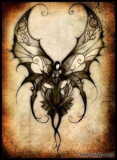 evil pixie tattoo - Google Search
