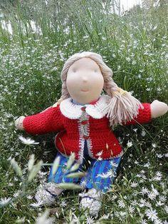 Waldorf doll Annie 19 by LeluszkaWaldorfDoll on Etsy