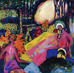 White Sound by Kandinsky, ~via Arte Moderna, FB Art Dégénéré, Art Mural, Degenerate Art, Wassily Kandinsky Paintings, Kandinsky Art, Inspiration Art, Arte Popular, Art Plastique, Love Art