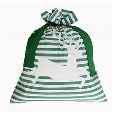 Classic Santa sack green #Christmas